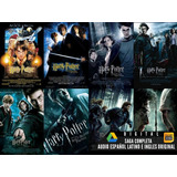 Saga Harry Potter Hd 1080p Digital