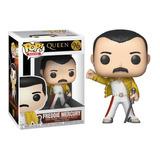 Funko Pop Freddie Mercury Wembley Queen Original Nuevo