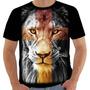 Camiseta Camisa Lc 7628 Leão De Jah Tribo Juda Blusa Rei Original