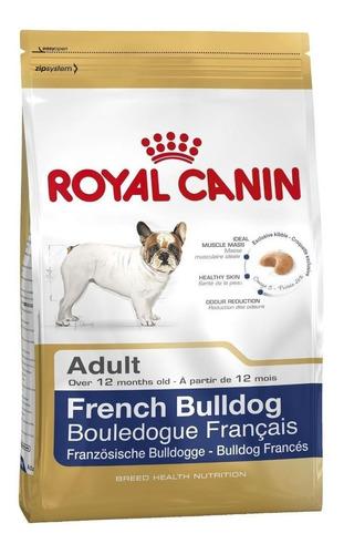 Alimento Royal Canin Breed Health Nutrition Bulldog Francés Para Perro Adulto De Raza Pequeña Sabor Mix En Bolsa De 3kg