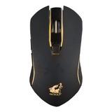 Mouse De Juego Inalámbrico Recargable Free Wolf  X9 Black