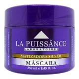 La Puissance Máscara Matizadora Silver Cabello Rubio X 250ml