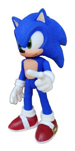Sonic Muñeco Super Sonic 24 Cm Alto