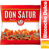 Bizcocho Biscocho Dulce Don Satur Bizcochito 200g Paquete X1