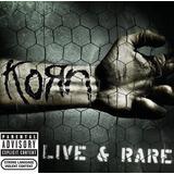 Korn Live & Rare Cd Nuevo Sellado