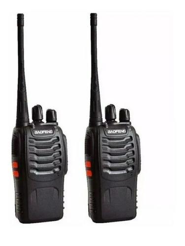 Pack 2  Radio Boquitoqui Walkie Talkie Baofeng Bf-777s