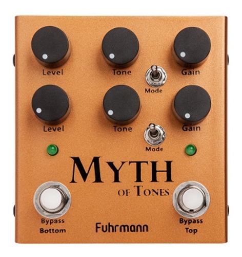 Pedal Myth Of Tones Fuhrmann My01 Cobre Drive Duplo Com Sonoridade Transparente