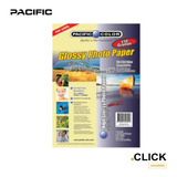 100 Hojas Papel Fotográfico Glossy 110 Gr A4/ Click Ahorro