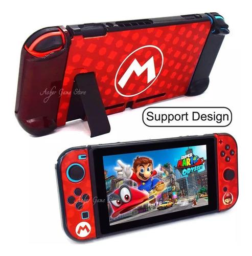 Carcasa Protectora Nintendo Switch Mario