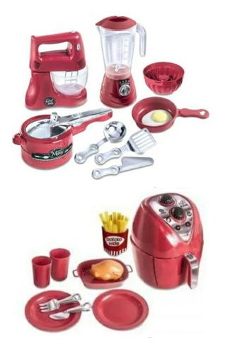 Litlle Chef Kids + Air Fryer Brinquedo Infantil