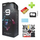 Camara Gopro Hero 9 Black+128gb+kit Accesorio+funda+vidrio