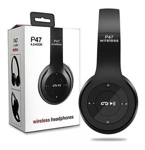 Auriculares Bluetooth P47 Inalámbricos Microsd Manos Libre
