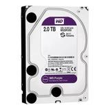 Disco Rigido Pc 2tb Wd Purple Ideal Seguridad Xellers Cuotas