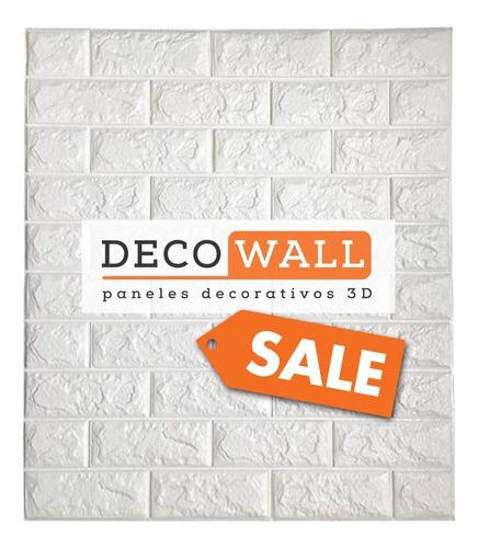 Pared Decowall Placa Auto-adhesiva! 3d! Envios Por 4 Placas!