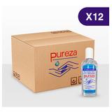 Gel Antibacterial Pureza - Paquete De 12 Unidades, 200g C/u
