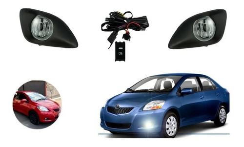 Kit Neblineros Toyota New Yaris Sedan 2006-2014