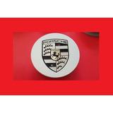 Tapa De Aro Porsche Emblema De Rueda 75mm