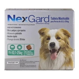 Pastilla Antipulgas Nexgard 10kg A 25kg (30 Días)
