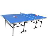 Mesa Ping Pong Con Ruedas + 4 Accesorios - Nivel Profesional