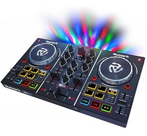 Controlador Numark Party Mix  Incluye Serato Dj Lite