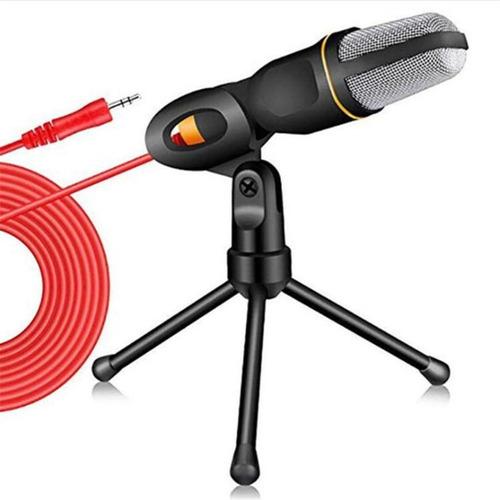 Microfone Condensador Usb Games Abafa Ruído Externo De Mesa