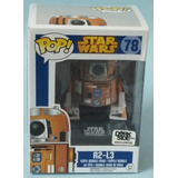 R2-l3. Star Wars. #78. Dorkside Exclusive. Pop. Nuevo.