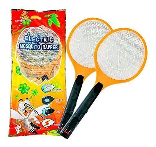 Raqueta De Matamoscas Eléctrica Insectos Fly Swatter