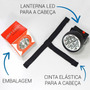 10 Uni /lanternas De Cabeça Ou Capacete Led Forte Tatica Original
