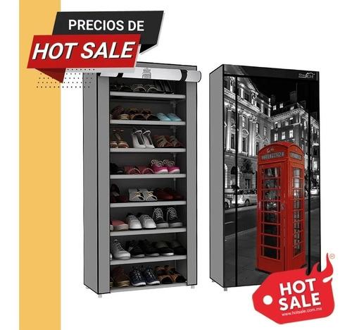 Zapatera Closet Organizador De Zapatos 8 Niveles 24 Zapatos