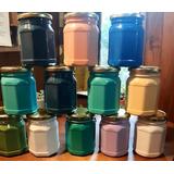 Pintura A La Tiza De Varios Colores.