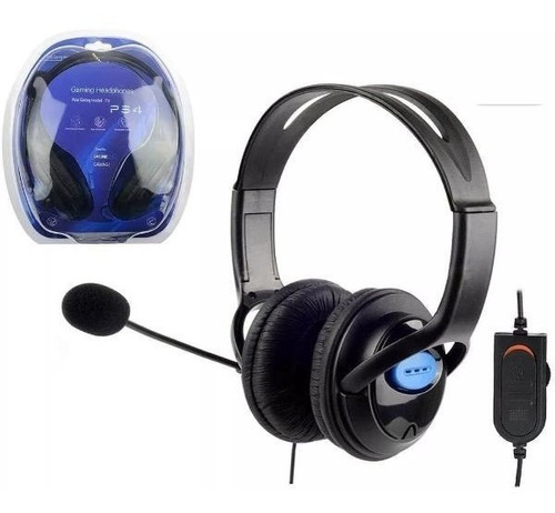 Auricular Gamer Headset Microfono Playstation 4 Ps4 Fortnite