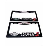 Par (2) Portaplacas Mini Cooper S