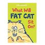 Livro Iantil Para Aprender Inglês What Will Fat Cat Sit On Original