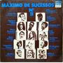 Máximo De Sucessos Lp 1974 Vol 11 Jorge Ben Raul Gal 13108 Original