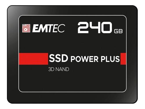 Memoria Ssd Interno Emtec X150 Power Plus 240gb 240 Sata