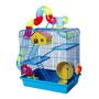 Gaiola De Ramsters Hamsters Labirinto Para Roedor 3 Andares Original
