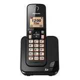 Teléfono Inalámbrico Panasonic Kx-tgc350 Negro