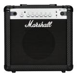 Amplificador Marshall Mg Carbon Fibre Mg15cfr Transistor Para Guitarra De 15w Color Negro 220v