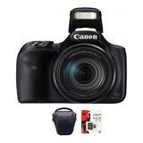Camara Canon Sx540  Full Hd 50x Wifi 20mp Memo 64gb + Bolso