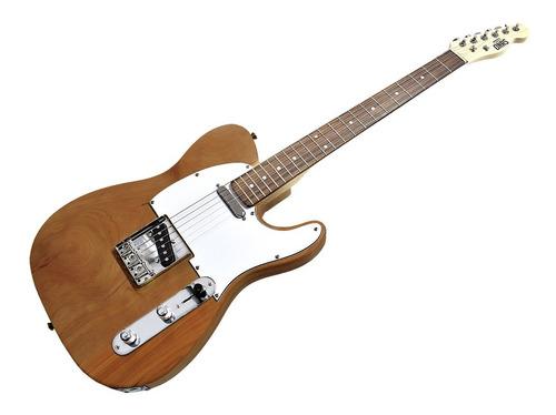 Guitarra Eléctrica Onas Telecaster Natural Wood Bolt On