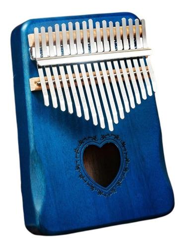 Kalimba 17 Teclas Calimba Instrumento Musical Madera Fina