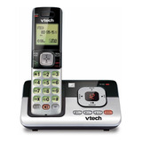 Teléfono Inalámbrico Vtech Cs6829 Negro Y Plateado
