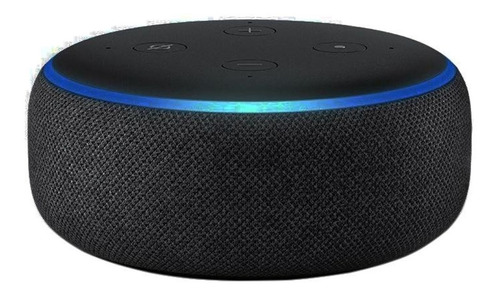 Smart Speaker Amazon Alexa Echo Dot 3 100% Original Com Nota