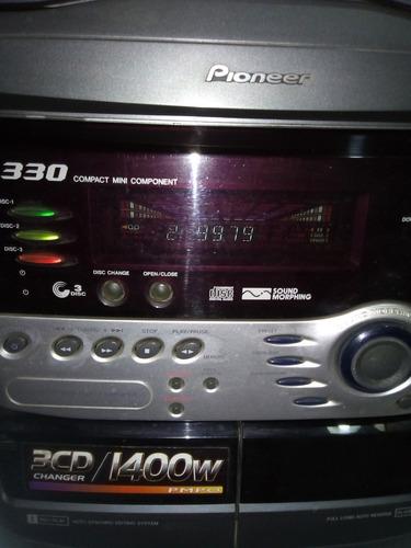 Equipo De Música Minicomponente Pioneer Xr A330