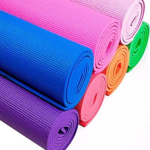 Colchoneta Yogamat Pilates Gimnasia Abdominales 3mm - El Rey