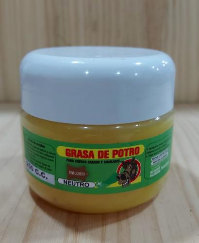 Grasa De Potro Neutra De 250 C.c Para Humectar El Cuero