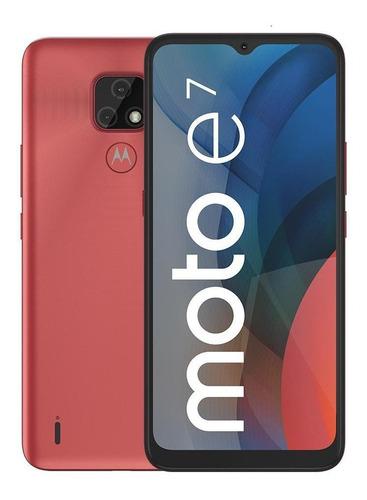 Celular Motorola Moto E7 32gb Rosa Coral