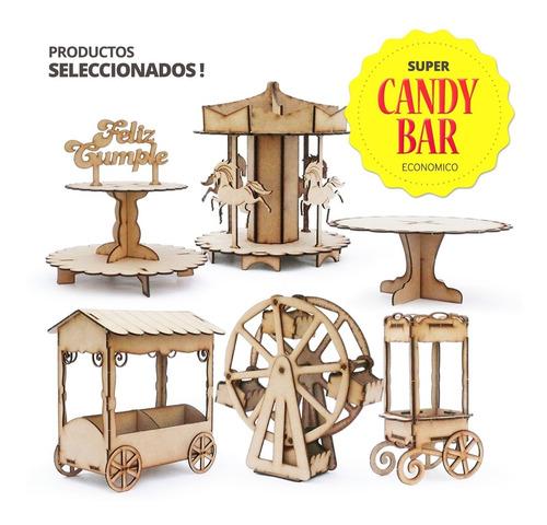 Combo Candy Bar Fibrofácil 6 Art + Deco Envio Gratis