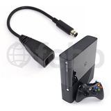 Cable Adaptador Para Fuente Xbox 360 Fat Convertir A E