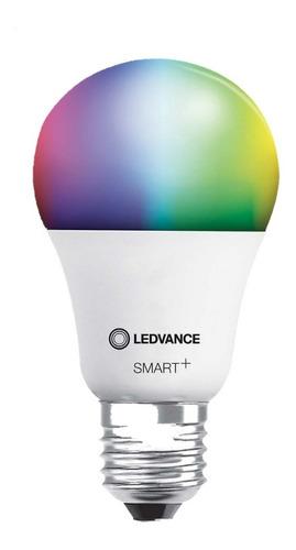 Lampara Foco Led Ledvance Smart + Wifi Rgbw Color 9w E27